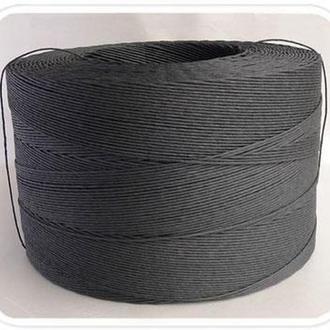 Бумажный шпагат крафт черный