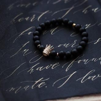 браслет из натурального камня