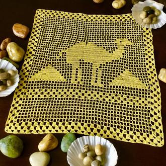 Салфетка ручной работы «Египет».