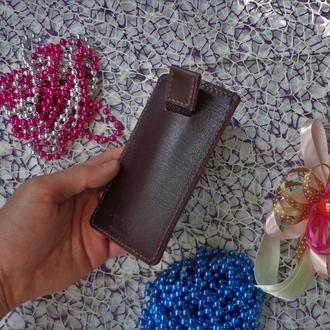 Кожаный чехол для телефона по Вашим размерам.