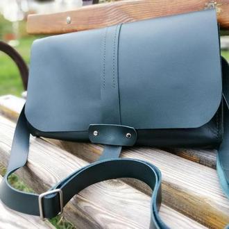 Женская кожаная сумка полностью из натуральной кожи