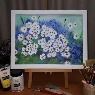 """Картина """"Польові квіти"""""""