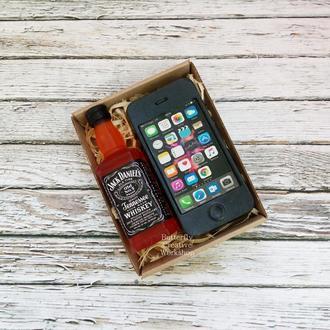 "Набор мыла ""Виски+айфон"""