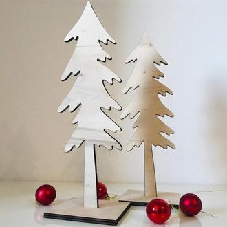 Деревянная елочка на подставке CAPSBOARD TREE (30 см)