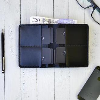 Шкіряний гаманець, Мужской кожаный кошелёк ручной работы