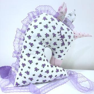 Подушка игрушка единорожка,игрушка сплюшка,подарок девочке,игрушка для сна,подушка обнимашка