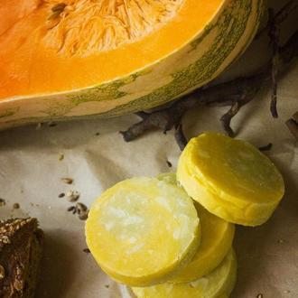 Мыло с нуля на соке тыквы