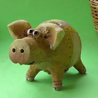 Свинья Копилка №10 свинка