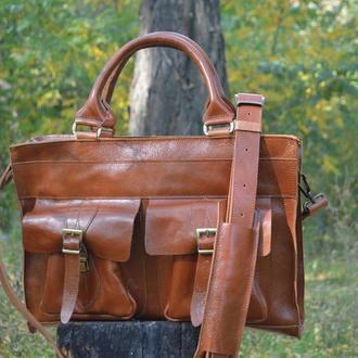 Деловая сумка Every Day из натуральной кожи