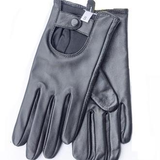 Женские перчатки из натуральной кожи (для сенсорных экранов)