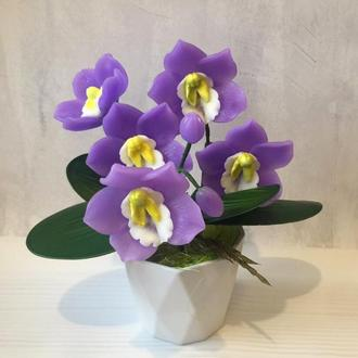 Мыльный букет « Орхидея»