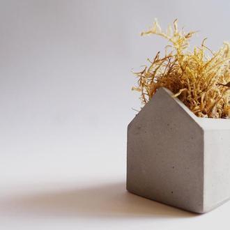 """Настольная ваза ручной роботы""""Table set HOUSE"""""""