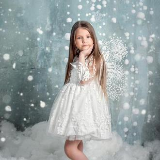 Крылья снежной феи (зимней феи)
