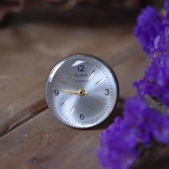Кольцо часы