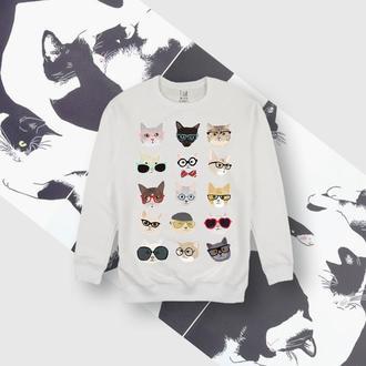 Свитшот с котиками