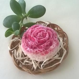 Роза с мороза! Мыло ручной работы!