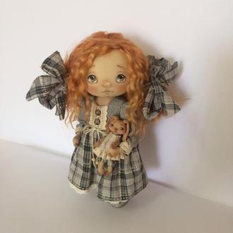 Кукла текстильная интерьерная авторская