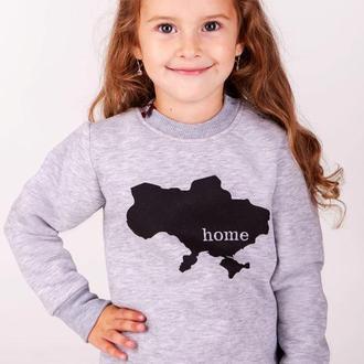 Свитшот для девочки Home