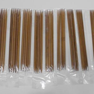 Чулочные спицы бамбук - 11 наборов