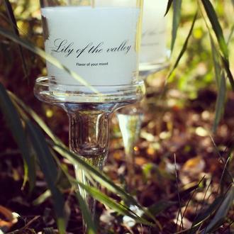 Ароматические свечи ручной работы с ароматом ландыша
