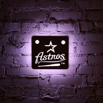 """Нічна лампа з натуральної деревини """"Astnos"""""""