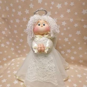 Янголятко, текстильна лялька, інтер'єрна лялька, лялька ручної роботи