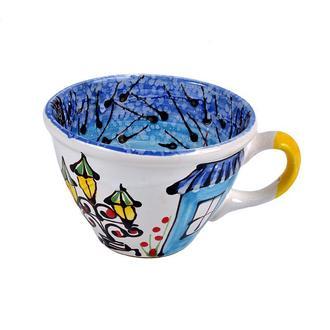 чашка ручной работы