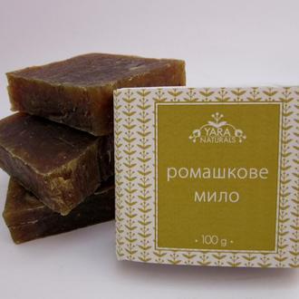 Натуральное мыло с ромашкой и медом