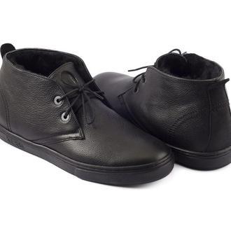 Ботинки зимние KERSI кожа мех