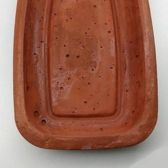Бетонная ключница - темно коричневая