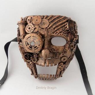 Карнавальная маска стимпанк