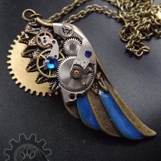 Steampunk крылышко (под заказ на сентябрь)