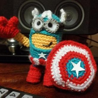 Вязаные Миньоны - супергерои