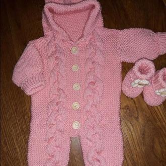 Комбінезони дитячий вязаний