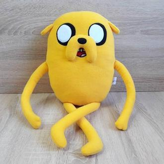 Мягкая игрушка - подушка Джейк Пес Время приключений
