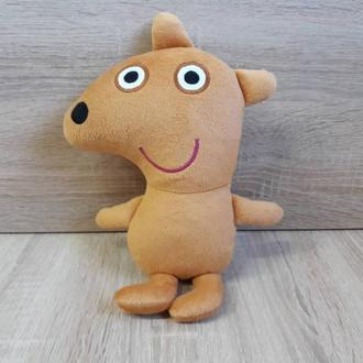 Мягкая игрушка мишка Тедди свинки Пеппы