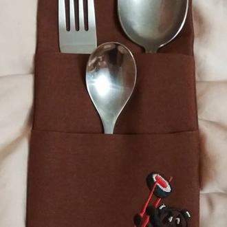 Конверты(куверты) кармашки для столовых приборов