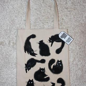 Сумка Черные коты