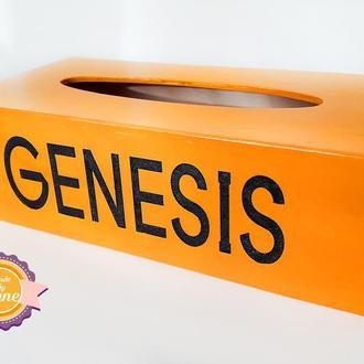 Салфетница с логотипом компании