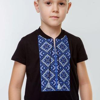 Вишиванка для хлопчика на короткий рукав