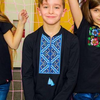 Вишиванка для хлопчика на довгий рукав