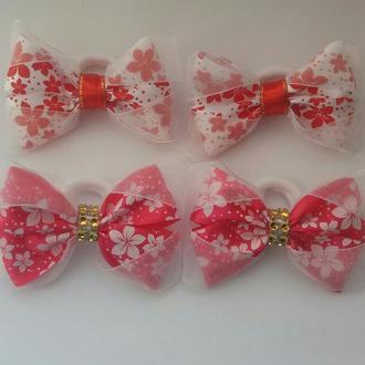 Резиночки-бантики для дівчинки