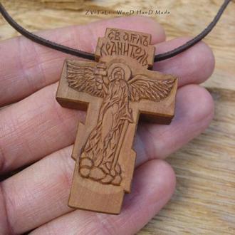 """Нательный крестик """"Ангел Хранитель"""""""