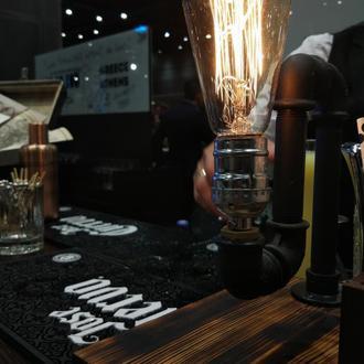Светильник  в стиле лофт.