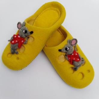 "Тапочки ""Мышки"""