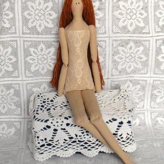 Кукла в стиле Тильда Манекен девочка 48см