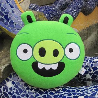 Мягкая игрушка - подушка Свинья Энгри Бердс Angry Birds