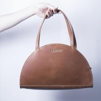 Женская сумка из натуральной кожи / IN07002 коньяк