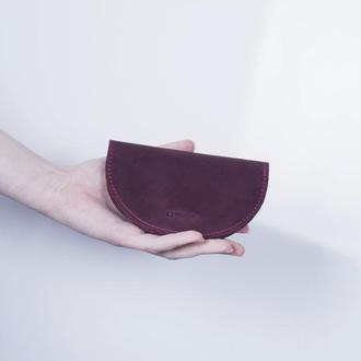 Кожаный кардхолдер./ IN08001 бордо