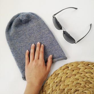Bregoli design шапка бини женская меринос